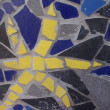 Stock Photo: Mosaic of broken tiles
