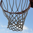 Stock Photo: Basketball basket