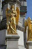 Angels sculpture — Stock Photo