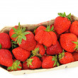 Fresh strawberries - Stock Photo