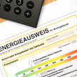Energy performance certificate — Stock Photo #12113915