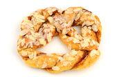 Almond-pretzel — Stock Photo