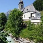 Ramsau church — Stock Photo #12189096