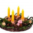 Stock Photo: Advent wreath