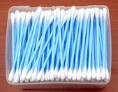 Bastoncillos de algodón — Foto de Stock