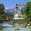 Church of Ramsau - Lizenzfreies Foto