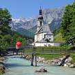 Church of Ramsau — Stock Photo