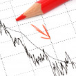 Stock Photo: Chart analysis