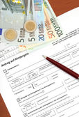 Family credit application — Stock Photo
