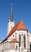 圣母教堂 wasserburg 是客栈 — 图库照片
