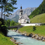 Church of Ramsau — Stock Photo #12279834