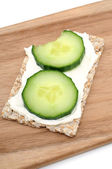 Cucumber bread — Stock Photo