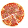 """Pizza """"Speciale"""" on white background — Stock Photo #12467503"""