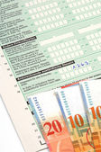Paying tax — Stock Photo