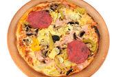 """Pizza """"Quattro Stagioni"""" — Stock Photo"""