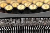 私の古いタイプライター — ストック写真