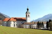 El austríaco abadía st georgenberg-fiecht de los benedictinos — Foto de Stock