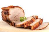 Típico bávaro asado de carne de cerdo en un estudio de disparo — Foto de Stock
