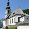 Church of Ramsau near Berchtesgaden with the Reiteralpe mountain — Stock Photo #12656721