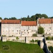 Burghausen icastle atop a ridge is the longest castle in Europe (1043 m) — ストック写真