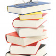 Stock Photo: Hardcover books