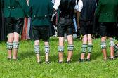 Calcetines tradicionales bávaras en chiemgau — Foto de Stock