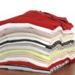 Stack of T-Shirts — Foto de Stock