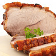 Roast pork - Stock Photo