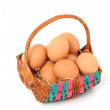 Eggs in a basket — Stock Photo #13135876