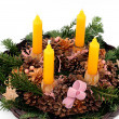 Advent wreath - Foto Stock