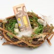 Easter nest - Stock Photo