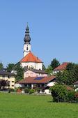 Traunwalchen is a little village in Bavarian Chiemgau, part of Traunreut — Stock Photo