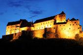 Burghausen castle atop a ridge is the longest castle in Europe (1043 m) — Stock Photo