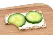 Cucumber bread — Stock Photo