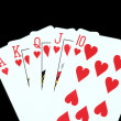 Royal Flush - Stock Photo
