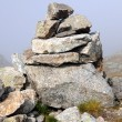 Stock Photo: Stone cairn