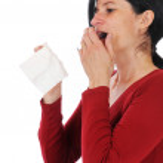 Woman has caught a flu — Stock Photo #13337441