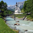 Ramsau church — Stock Photo #13608751