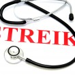 Stock Photo: Strike