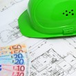 Construction plan — Stockfoto