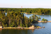 Archipelago near Helsinki — Stock Photo