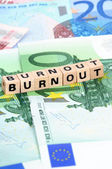 Burnout — Foto de Stock