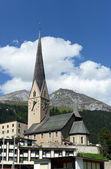St. Johann Davos — Foto de Stock