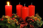 Advent wreath — Stock fotografie