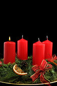 First advent — Stock Photo
