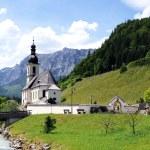Ramsau church — Stock Photo #43040241