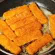 Fish fingers — Stock Photo