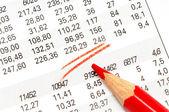 Akciový trh — Stock fotografie