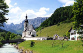 Ramsau church — Stock fotografie
