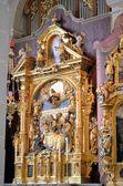 Interno della chiesa cattolica 01 — Foto Stock